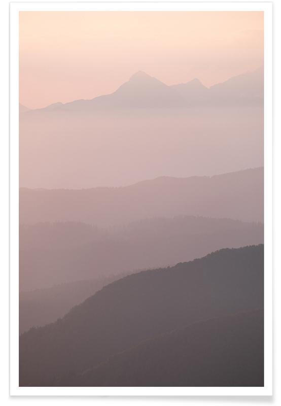 Himmel & Wolken, Sehenswürdigkeiten & Wahrzeichen, Gradients Of Cloud by @rokromih -Poster