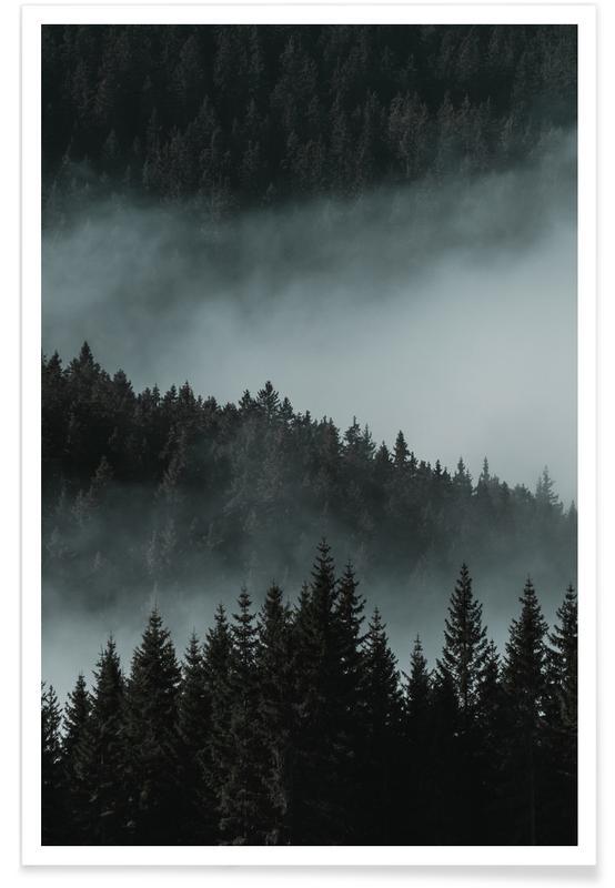 Forêts, Monuments et vues, Mystic Mountains by @rokromih affiche