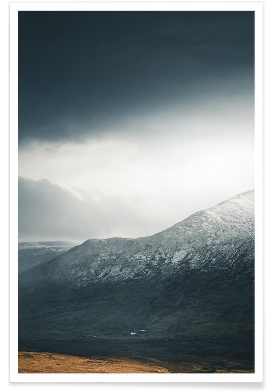 Mountains, Sights & Landmarks, Sunlight Breaks Through by @nilsleithold Poster