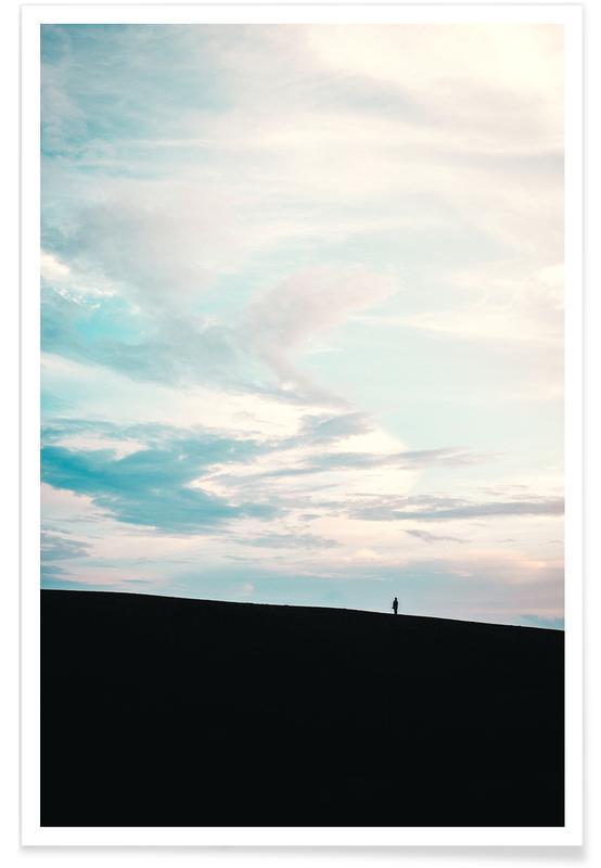 Skies & Clouds, Bright Skies by @nilsleithold Poster