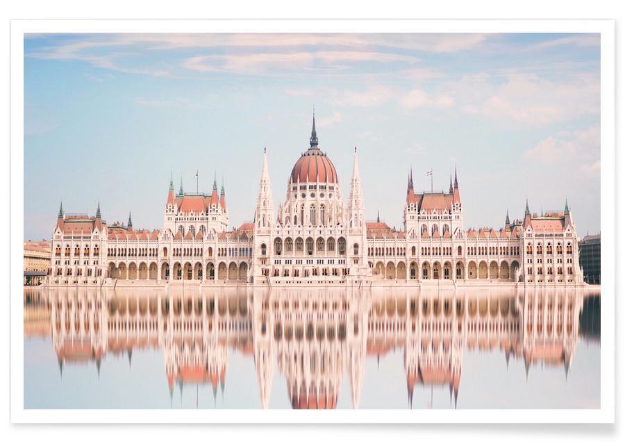 Détails architecturaux, Hungarian Parliament @andreas_tornberg affiche