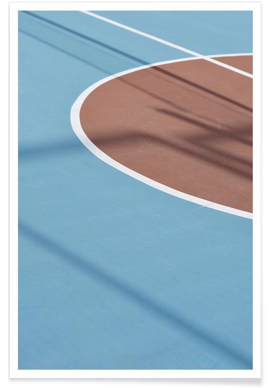, Hit The Court @sotirisbougas Poster