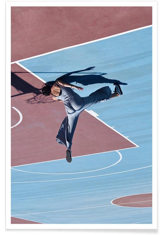 , High Kick @sotirisbougas Poster