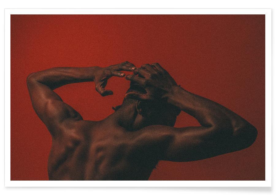 Body Close-Ups, Pulling And Pushing @brandonthomasbrown Poster