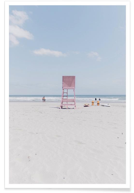 Arkitektoniske detaljer, Strande, Lookout by @drewwrightt Plakat
