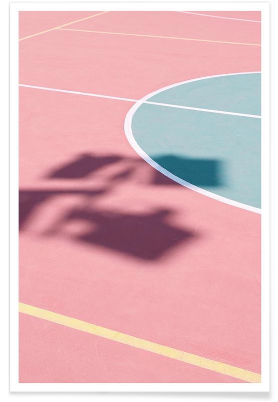 Tennis, Red Court @sotirisbougas -Poster