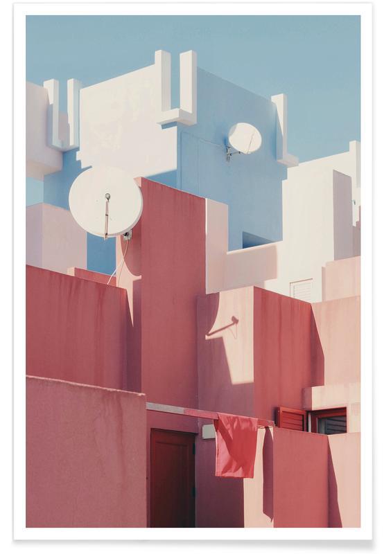 Détails architecturaux, Spanish Living @gjh_ affiche