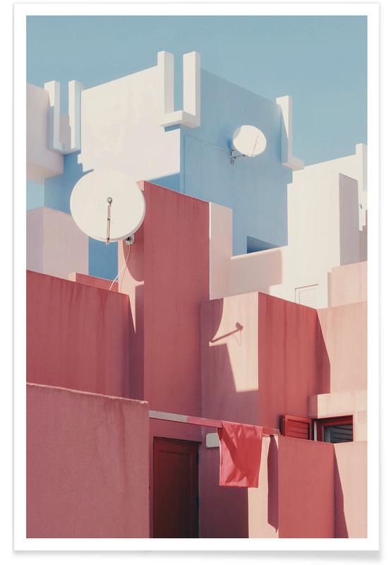 Architectural Details, Spanish Living @gjh_ Poster