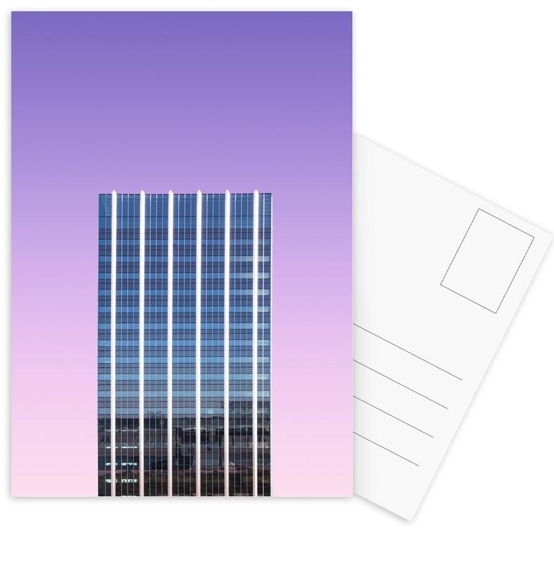 Architectonische details, Indigo Skyline @heysupersimi ansichtkaartenset