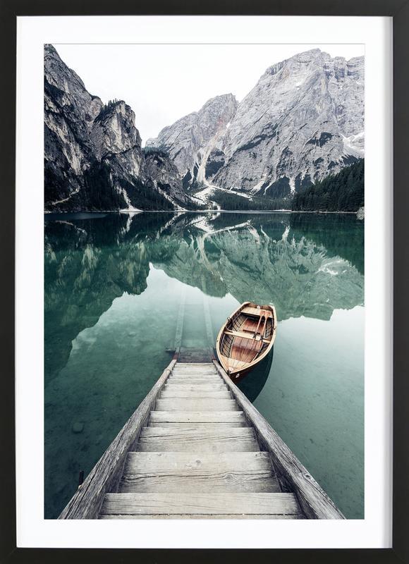 Calm Waters by @rwam Framed Print