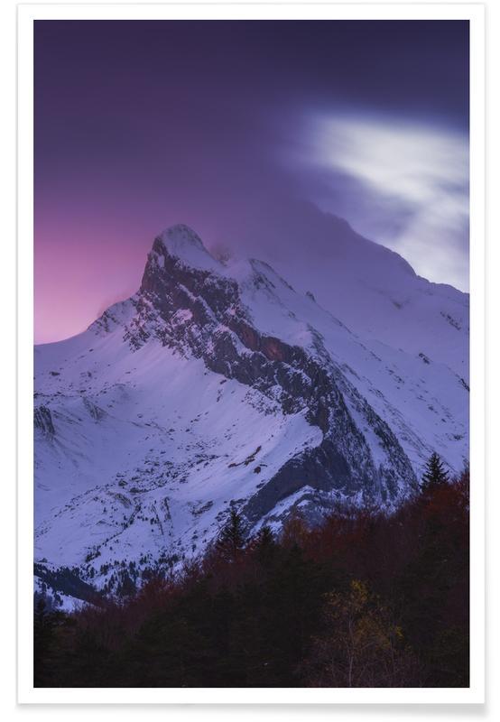 Berge, Bright Horizons @Cavan_Agency -Poster