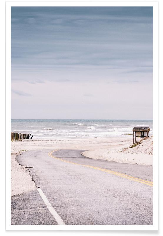 Beaches, Tranquility on the Shore Poster