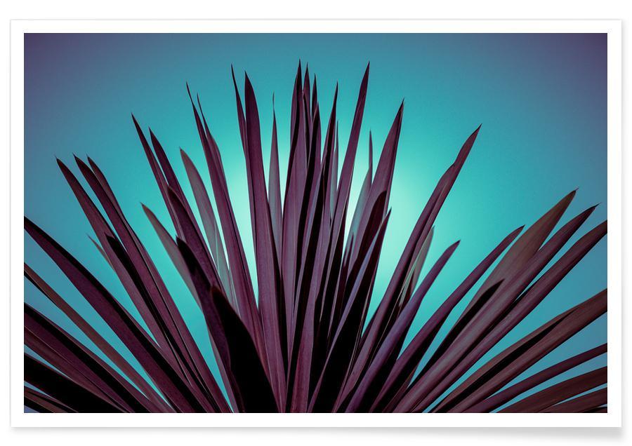 Blade & planter, Plant Life by @mirrorliss Plakat