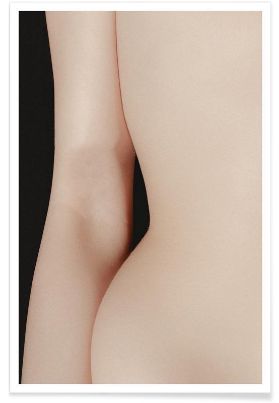 Body Close-Ups, Curvature Poster