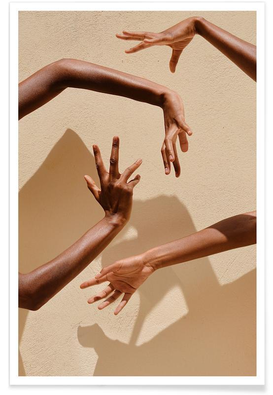 Détails corporels, Hands in Motion affiche