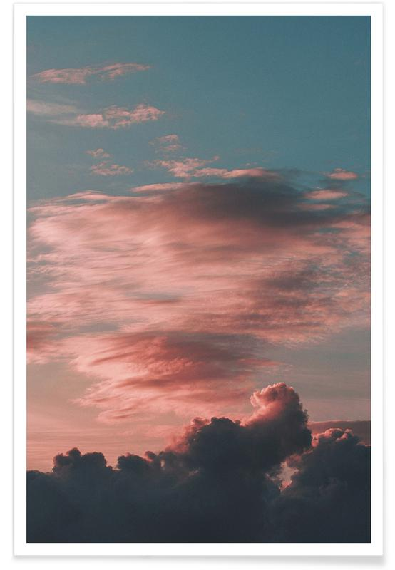 Himmel & Wolken, Clouds Above Athens -Poster