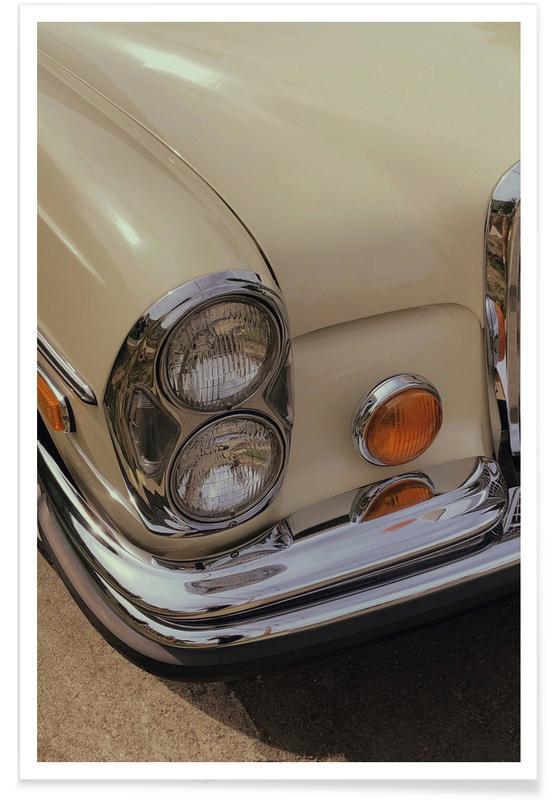 Cars, Classic Car Poster
