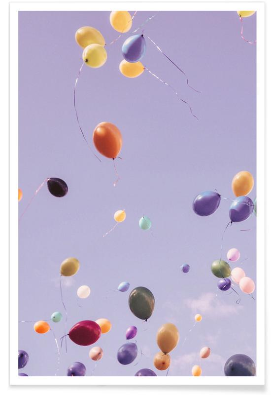 Wolkenkrabbers, Flying Free poster