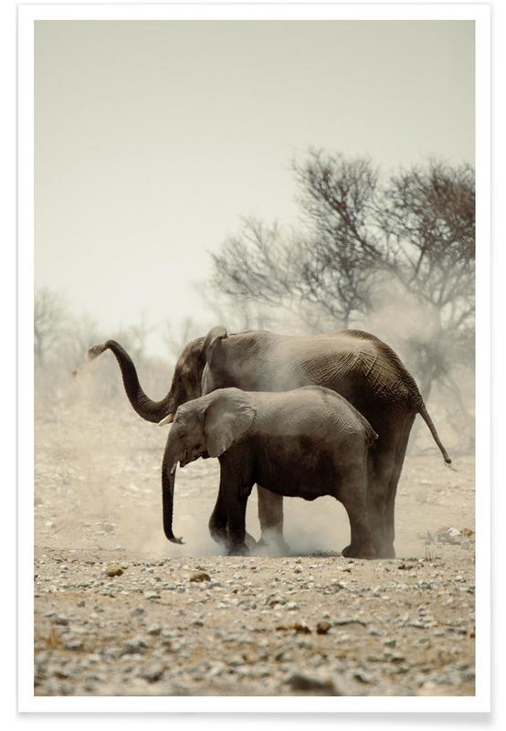Éléphants, An Unforgettable Friendship affiche