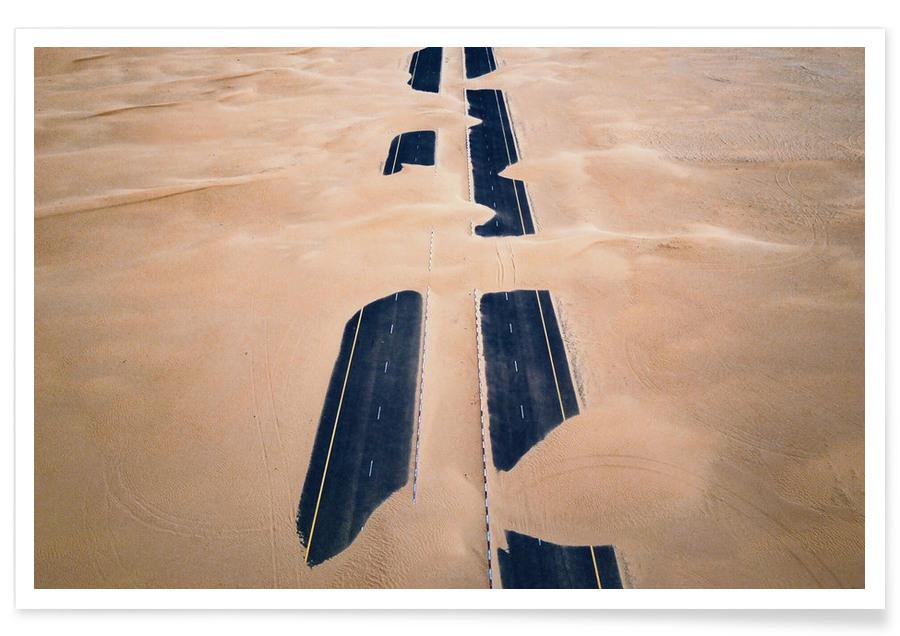 Wüsten, Desert Road -Poster