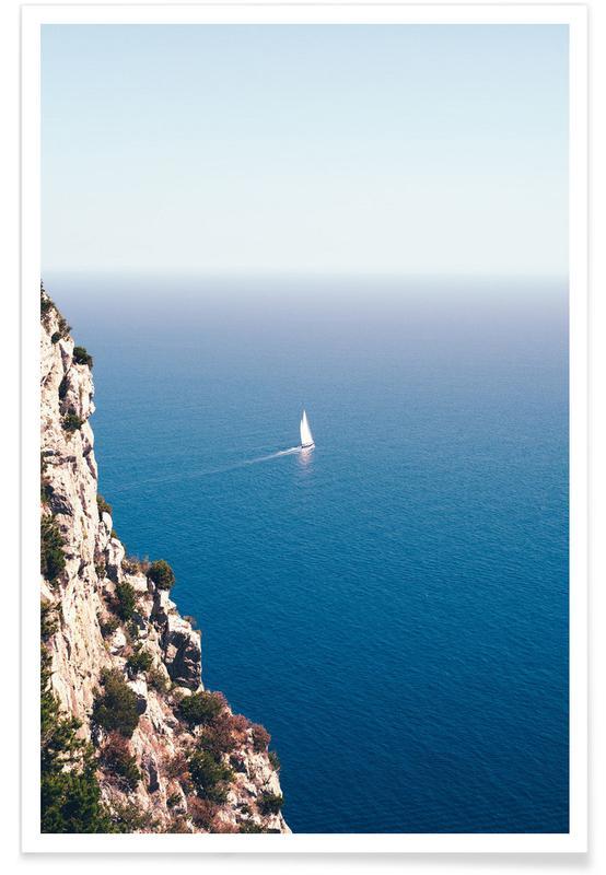 Oceanen, zeeën en meren, Boten, Setting Sail poster