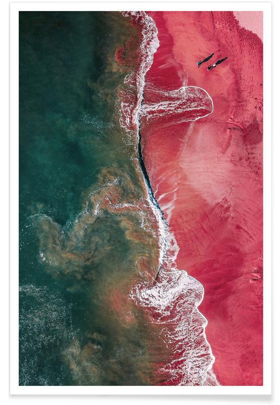 Stranden, Red Landing poster