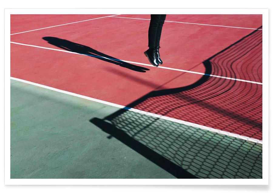 Tennis, High Jump -Poster