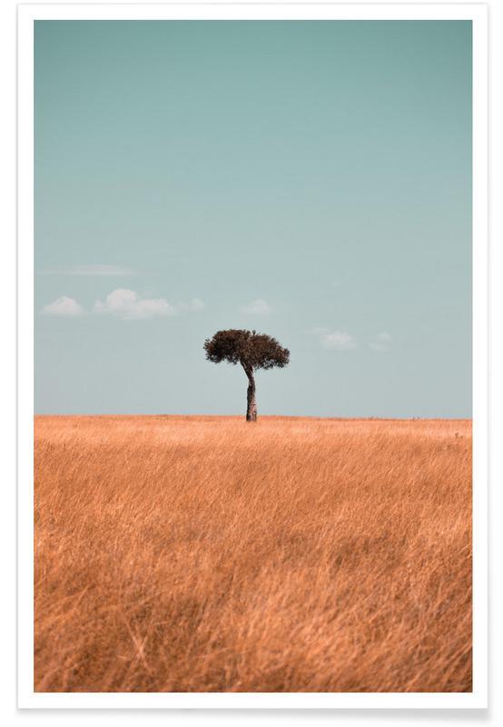 Wüsten, Savannah -Poster
