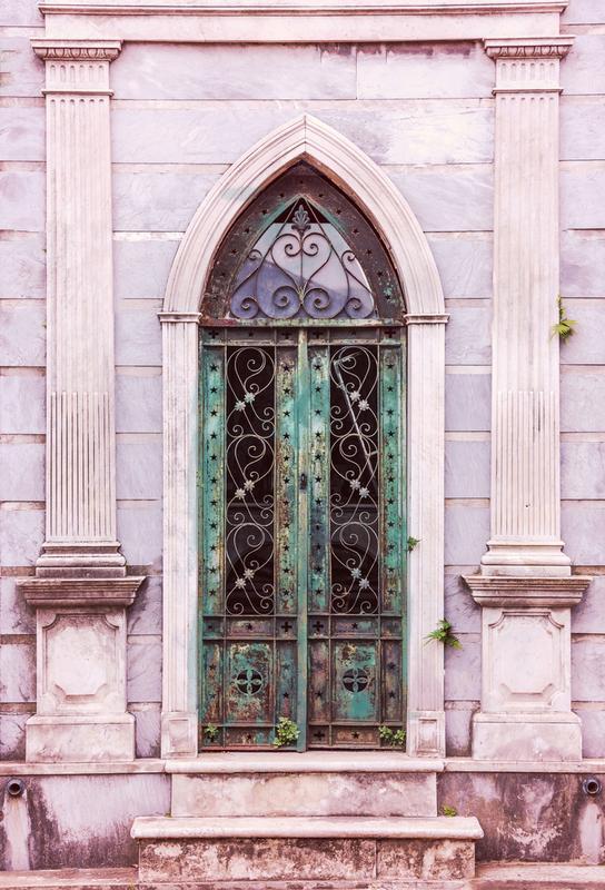 Buenos Aires Portal by @nwdp Aluminium Print