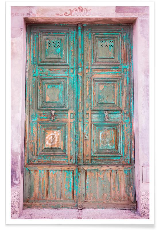 Arkitektoniske detaljer, Rejser, Come in! by @AireBailarin Plakat