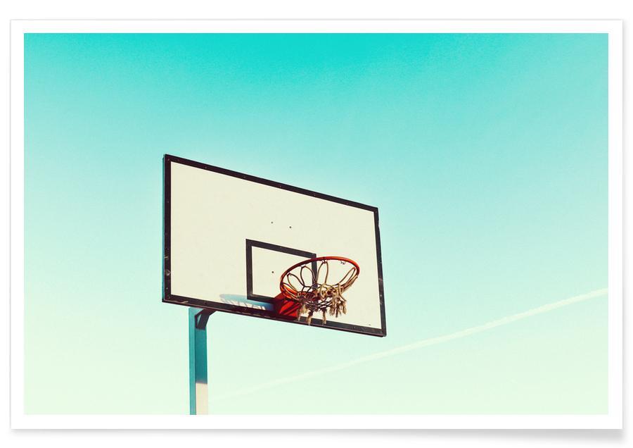 Arkitektoniske detaljer, Basketball, Quarter Final by @rachel Plakat