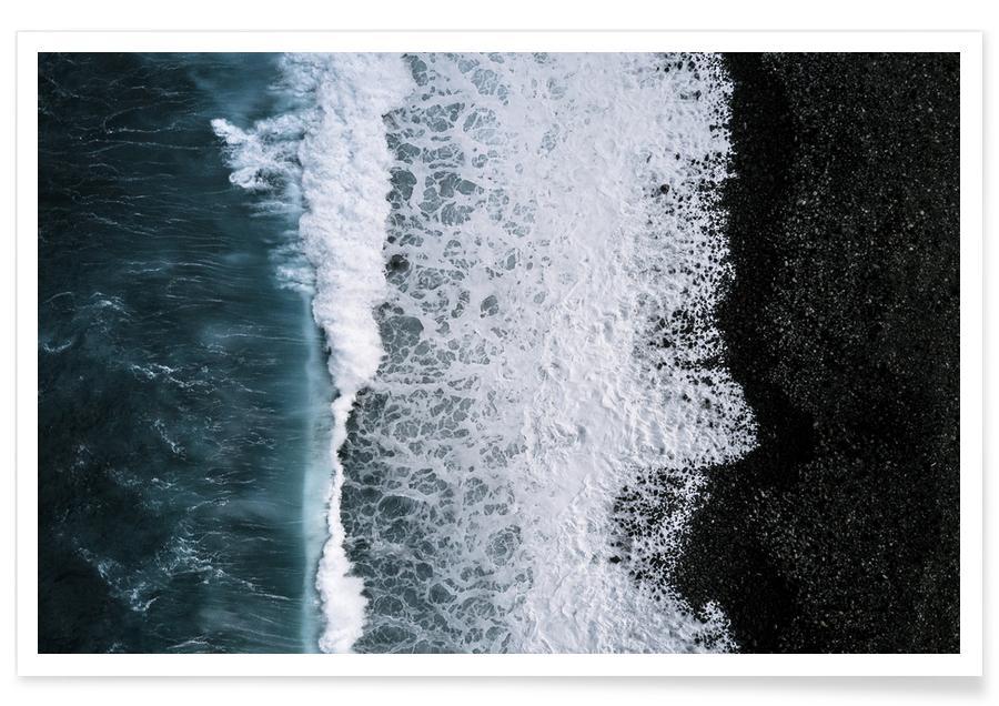 Hav, sø & havlandskab, Abstract Aerial by @regnumsaturni Plakat