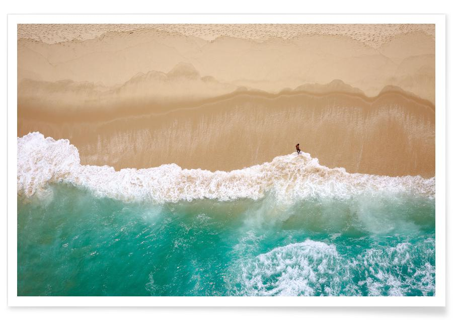 Plages, Océans, mers & lacs, Barra da Tijuca by @DiegoBaravelli affiche