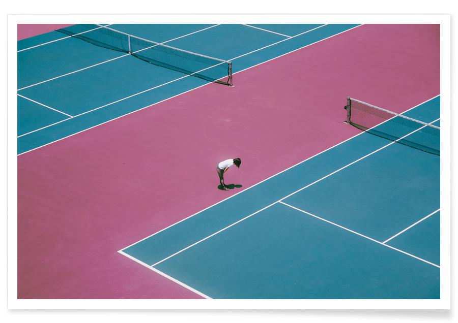 Architectonische details, Tennis, Extra Ordinary by @wubai32 poster