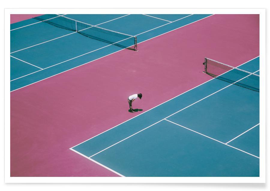 Arkitektoniske detaljer, Tennis, Extra Ordinary by @wubai32 Plakat