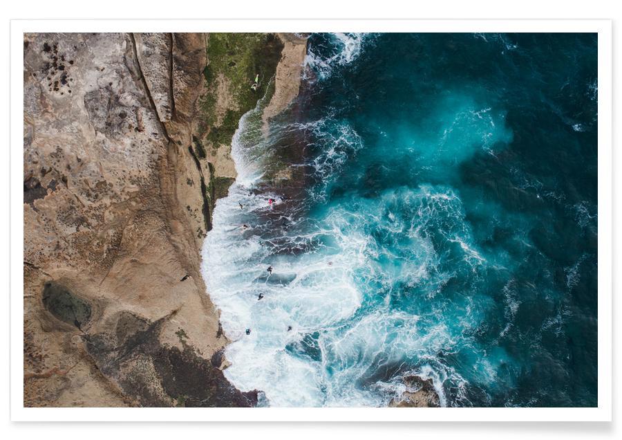 Strande, Hav, sø & havlandskab, Beauty by @itchbanxstock Plakat