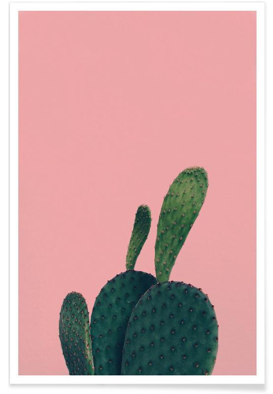 Kaktus, Green Friend by @yiiin Plakat