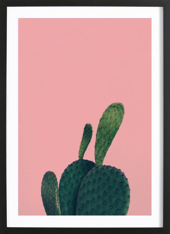 Green Friend by @yiiin Framed Print