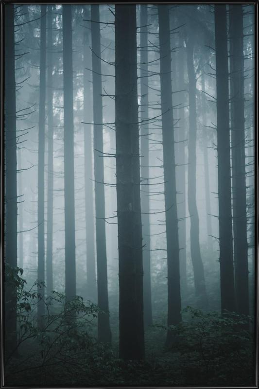 Morning Mist by @goldenhourpictures Framed Poster