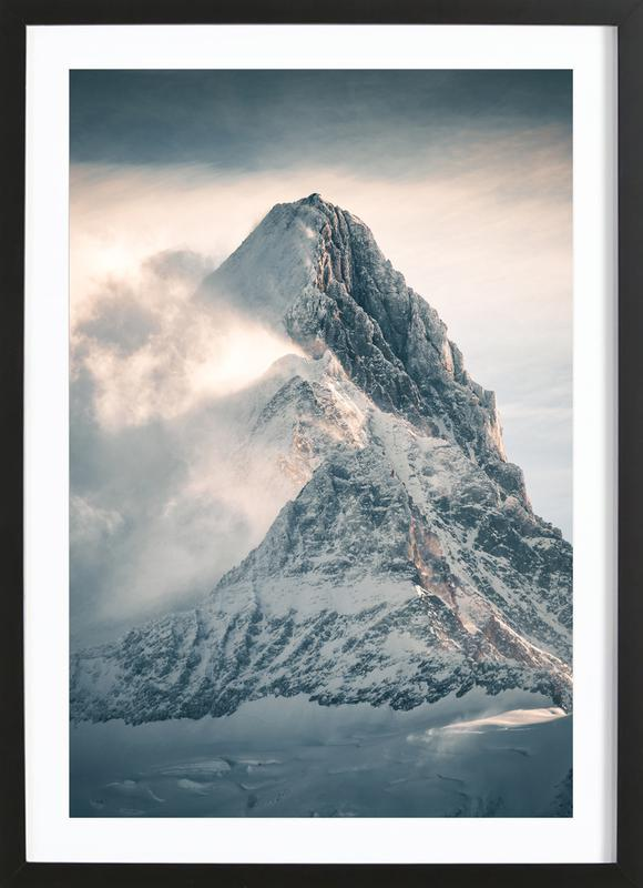 Silver Linings by @noberson Framed Print