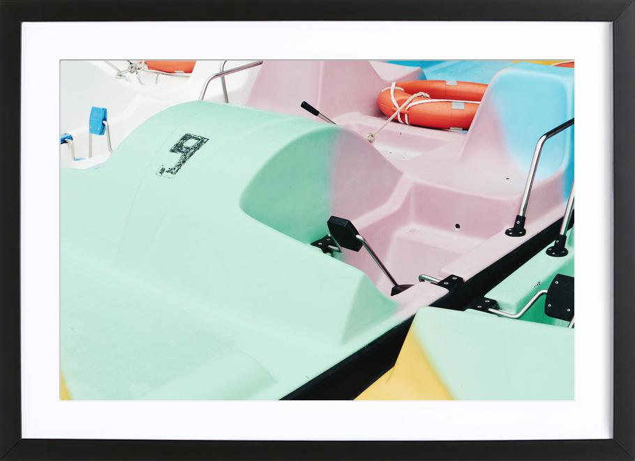 Pastel Power by @arnowoe Poster i träram