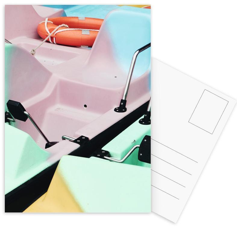 Pastel Power by @arnowoe Postcard Set