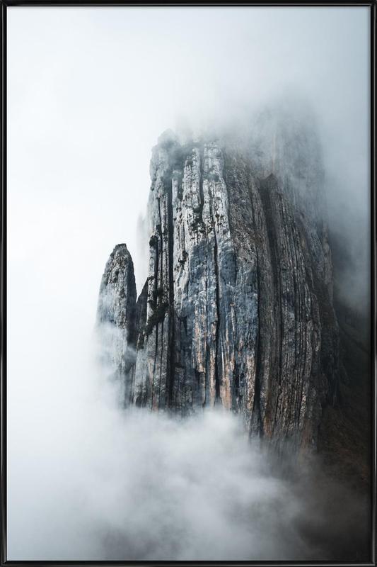Through the Fog by @noberson -Bild mit Kunststoffrahmen