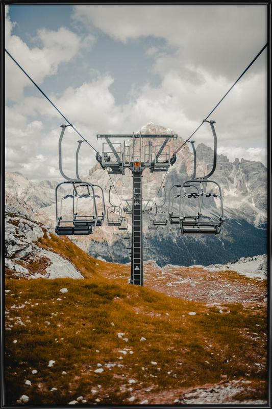 Reaching New Heights by @MatesCho -Bild mit Kunststoffrahmen