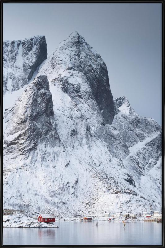 Snow-Capped Peaks by Massimo Zappula Poster i standardram