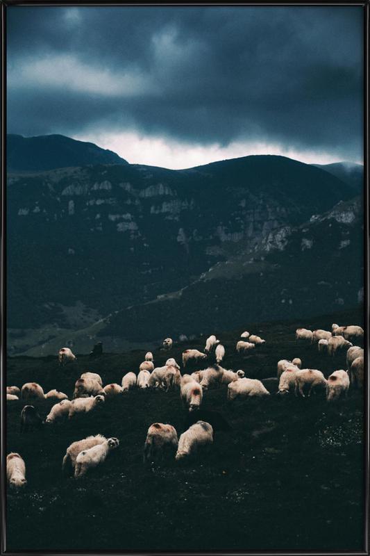 Ride out the Storm by Szabo Ervin-Edward -Bild mit Kunststoffrahmen