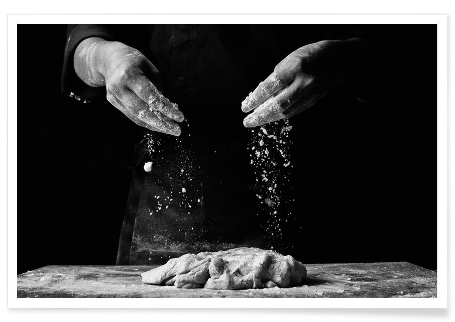 The Knead to Bake by Abamjiwa Poster