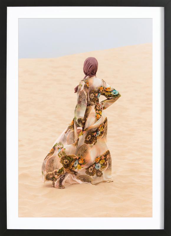 Desert Dance by Kurshid Samarqandiy Framed Print
