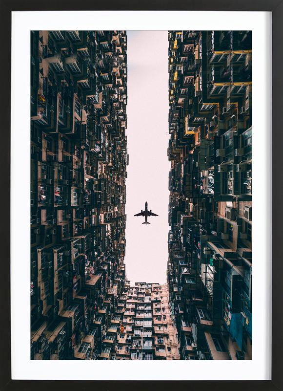 Watch It Soar by Kevin Cho ingelijste print