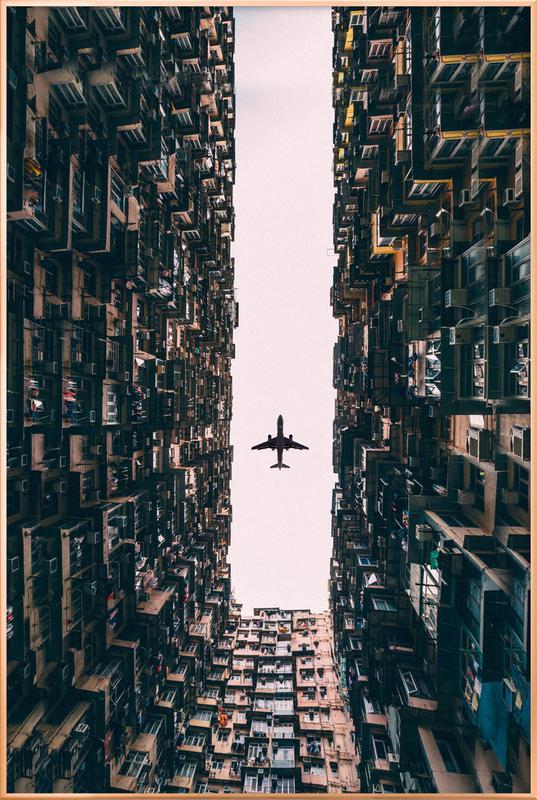 Watch It Soar by Kevin Cho poster in aluminium lijst